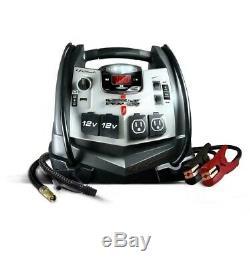 1200 Amp Portable Battery Jump Starter Air Compressor 12 Volt USB 120V AC outlet
