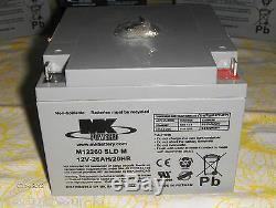 12 Volt 26 Amp/hr # ES 12 26 factory fresh Deep Cycle battery (SLA)