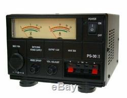 12 Volt 30 Amp Power Supply 35 Amp Peak Cb Ham Radio Fully Regulated