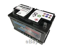12 Volt 80Ah 800 Amp AGM Car Battery 12V 800 Stop Start Battery 115 Battery