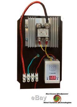 12 volt C- 100 AMP Digital Hybrid Charge Controller Wind Turbines Solar Hydro