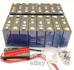 15S 100amp LiFePO4 Lithium-Eisen-Phosphat 48 volt 100 ah Akku Solarbatterie set