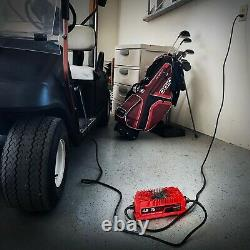 15 AMP Waterproof EZGO RXV Battery Charger 48 Volt Golf Carts Triangle Plug