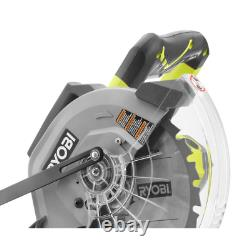 15 Amp 10 in. Sliding Compound Miter Saw and 18-Volt Cordless ONE+ Drill/Driver