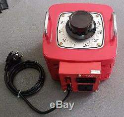 15 Amp Variac Variable Transformer 3000VA Max 0-240 AC Volt Output regulator New