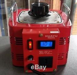 15 Amp Variac Variable Transformer 3000VA Max 0-270 AC Volt Output regulator New