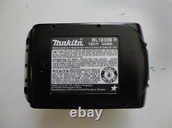 (1) Makita Bl1830b 18v 18 Volt Lithium Battery Packs 3.0 Amp Hour X 1 New Bl1830