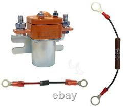 200 Amp Heavy Duty Solenoid/Diode/Resistor Pkg, 48V Golf Cart Upgrade 48 Volt