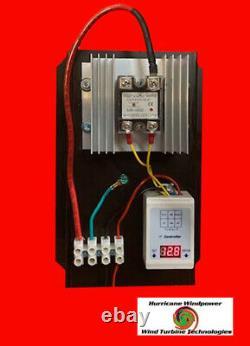 24 Volt C- 100 AMP Digital Hybrid Charge Controller Wind Turbines Solar Hydro