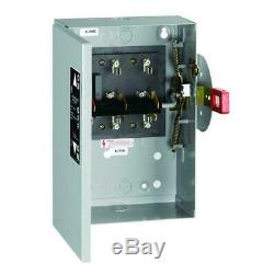 30 amp 240-volt non-fused indoor general-duty double-throw safety switch cover