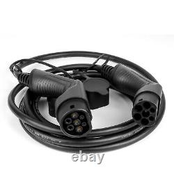 32A EV Charging Cable with bag For Electric Car Plug Charger Type2 To Type2 240V