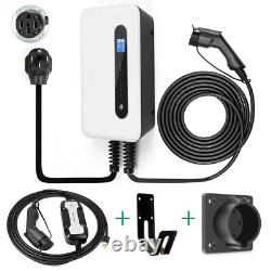 32A Level 2 EV Charging station & 16A 110V Portable Electric Vehicle car Charger