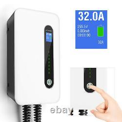 32Amp Level 2 EV Smart Home Charging station 220V Electric Vehicle Charger 6-50