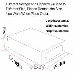 36/48/52/60/72 VOLT 10/15/20/30 Amp Hour LI-ION Lithium E-Bike Scooter Battery