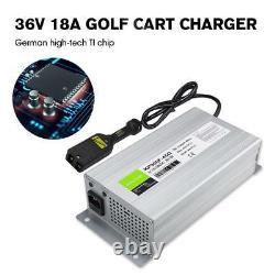 36 Volt 18Amp Golf Cart Battery Charger Automatic Fan For Ez Go Club Car Yamaha