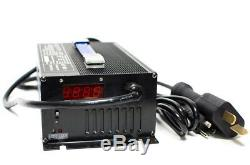 36 Volt Golf Cart Battery Charger 18 Amp 36V Ez Go Club Car Crows Foot Style