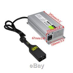 36 Volt Golf Cart Battery Charger 36V 18 AMP for EZGO Yamaha EZ GO WithPowerwise