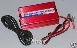 3V-3.2V-3.65V Volt 10A Amp Lithium LFP LiFePO4 Battery Charger USA Stock