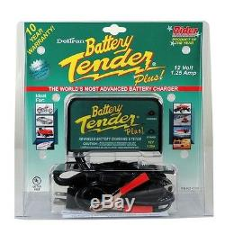 3 PACK Battery Tender Plus 021-0128 12 Volt 1.25 Amp Battery Charger 3x