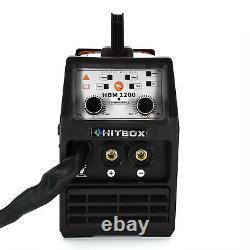 3 in 1 120AMP MIG Welder Gasless 110V 220V Dual Volt ARC TIG MIG Welding Machine