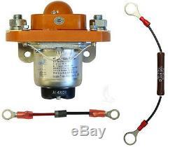 400 Amp Heavy Duty Solenoid/Diode/Resistor Pkg, 36V Golf Cart Upgrade 36 Volt