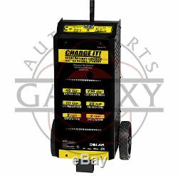 4745 CHARGE IT! 12/24 Volt Wheel Automotive Battery Charger 40/20/5/200 Amp