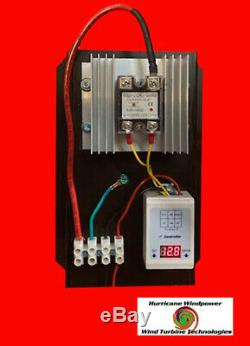 48 Volt C- 100 AMP Digital Hybrid Charge Controller Wind Turbines Solar Hydro
