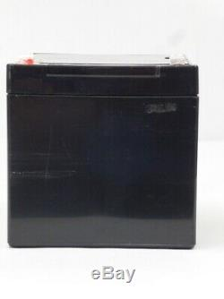 4 Pack 12V 12 Volt 12ah SLA Sealed Lead Acid Batteries for Electric Bike Scooter