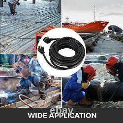 50' 220 Volt 50 Amp Heavy Duty 8/3 Welder Extension Cord MIG TIG Plasma