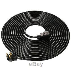 50' 8/3 Welder Extension Cord 220 Volt 50 Amp Heavy Duty MIG TIG Welding Cables