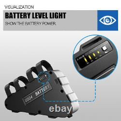 52 Volt 17.5 Amp Hour Lithium Battery for 1000W 1200W Ebike Bicycle Triangle