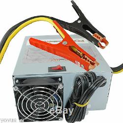 55 amp AUTOMOTIVE 12v volt Battery charger RV power converter with Jumper cables