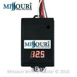 70 Amp PWM Solar Charge Controller for 12 Volt Solar Panels PV