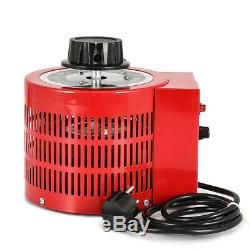 8 Amp Variac Variable Transformer 2000VA Max 0-250 AC Volt Output Regulator