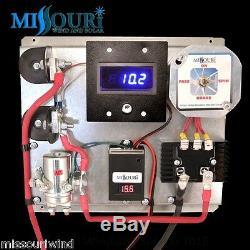 A400 12 Volt Digital Volt & Amp Wind turbine generator & Solar Charge Controller