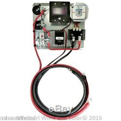 A400 24 Volt Digital Volt & Amp Wind turbine generator & Solar Charge Controller