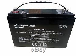 AGM Deep Cycle Battery Bank 12V 24V 48V Off Grid Solar Wind 100AH to 1000AH