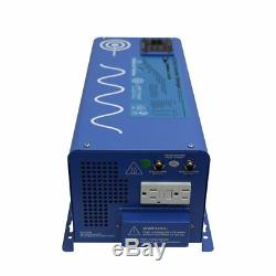 Aims 2000 Watt 24 Volt Pure Sine Wave Inverter With 30 Amp Charger See Video