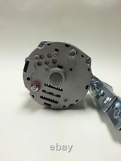 Alternator One Wire 1 Wire 6 Volt Positive Ground 60 Amp, Bracket, 1/2 Pulley