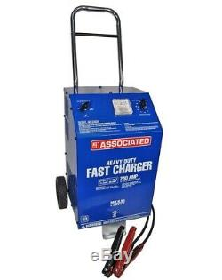 Associated 6012AGM 6/12 Volt Battery Charger, 70/60/30 Amp, Agm, 250Amp Cranking