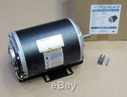 Belt Drive Motor 1/2 HP 1725 RPM 115 Volts 8.3 Amps