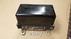 CCKW Military GMC DUKW Generator Regulator 6 Volt 40 AMP NOS G508 G501