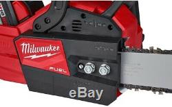Chainsaw Kit 16 in. 18-Volt Lithium-Ion with 12.0Ah Battery and amp M18 Rapid