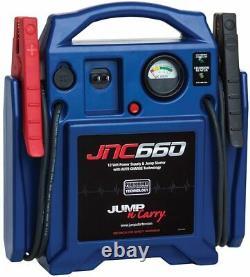 Clore Automotive Jump-N-Carry JNC660 1700 Peak Amp 12 Volt Jump Starter (BLUE)