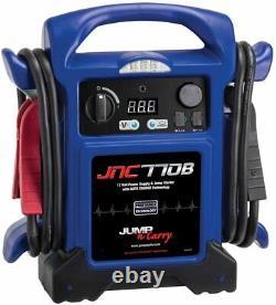 Clore Automotive Jump-N-Carry JNC770B 1700 Peak Amp Premium 12 Volt Jump Starter