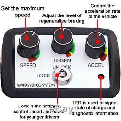Club Car DS/Precedent Navitas 600 Amp Shunt IQ Shunt Controller (48 Volt)