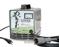Club Car Golf Cart Battery Charger 48 Volt 13 Amp Lester Electric Precedent & DS
