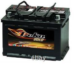 DEKA GENUINE NEW 648MF 12-VOLT Battery 835Amp Cranking Power (Group 48 H6/L3)