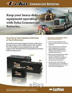 DEKA GENUINE NEW 94DLT 12Volt Battery 1045Amp Cranking Power (Group 4DLT)