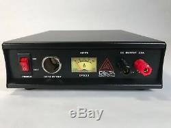 DELTA DPS33 33 Amp 12-13.8v AC/DC Power Supply with Volt AMP Meter Ham CB Radio